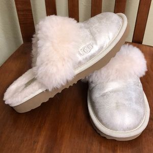 Ugh Kids Cozy II Metallic Slippers